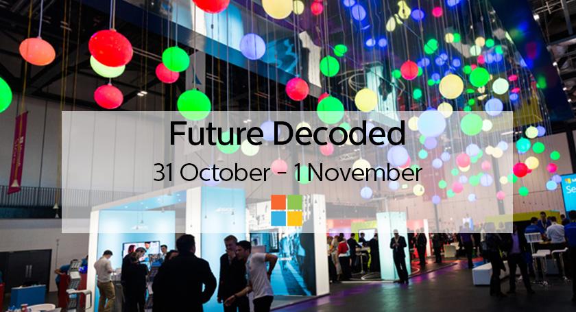 Microsoft Future Decoded 2017