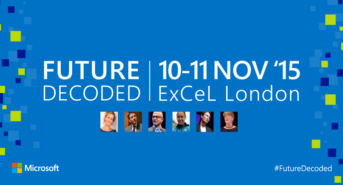 Future Decoded 2015