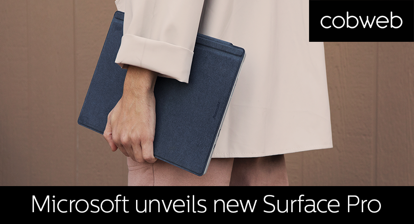 Microsoft announce new Surface Pro