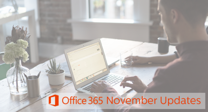 Office 365 November Updates