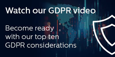 10 things to consider with GDPR